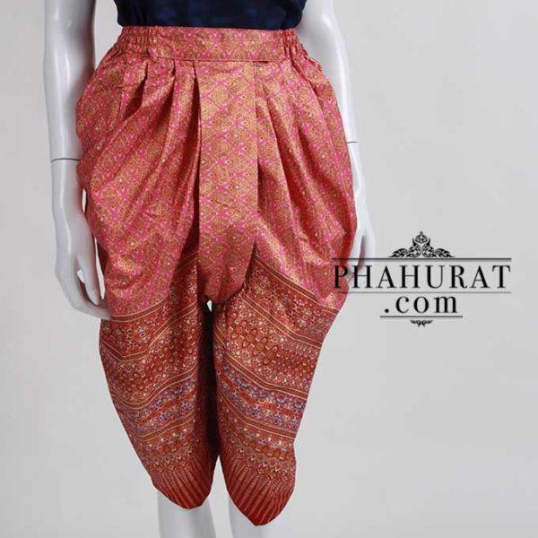 โจงผ้าพิมพ์ลายไทย
